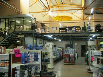 Mezzanine Floor in Agri Mark - Ceres